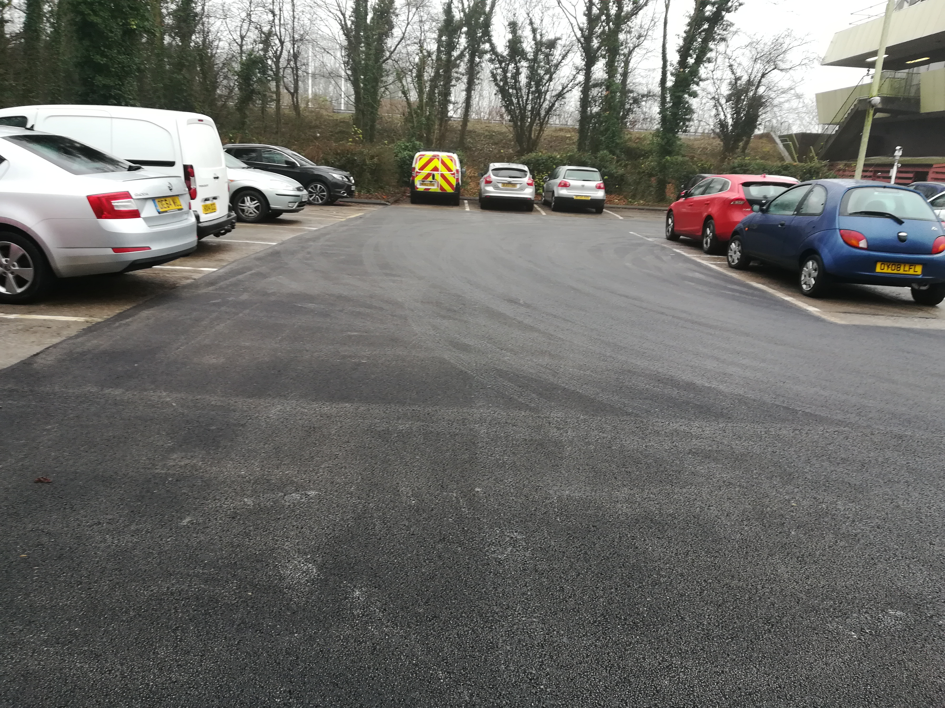 Humber Bridge Car Park Resurfacing Works