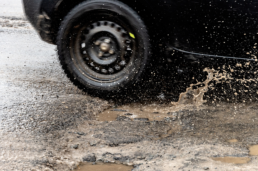 One-Third Of UK Drivers Suffer Pothole Damage To Their Cars
